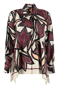 Long-sleeved silk shirt, Shirts Salvatore Ferragamo woman