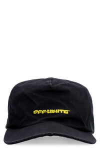 Embroidered baseball cap, Hats Off-White man