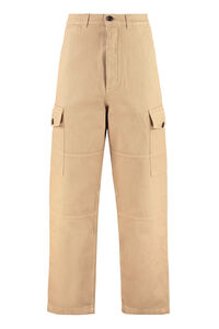 Cotton cargo-trousers, Casual trousers AMI man