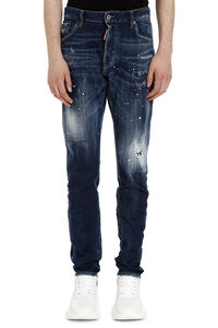 Cool Guy distressed slim fit jeans, Slim jeans Dsquared2 man