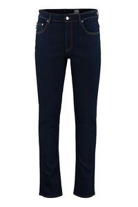 5-pockets slim fit jeans, Slim jeans Love Moschino man