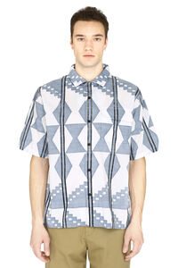 Printed cotton shirt, Short sleeve Shirts Levi's Made & Crafted man