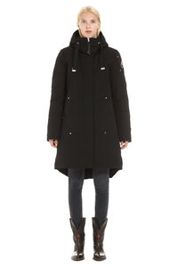 Long quilted parka, Down Jackets Moose Knuckles woman