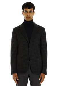 Single-breasted two-button blazer, Single breasted blazers Z Zegna man