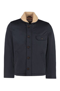 Jacket with faux shearling interior, Overcoats Universal Works man