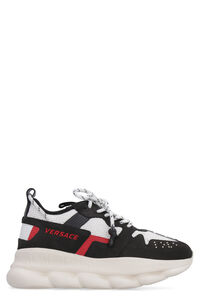 Chain Reation 2 lace-up sneakers, Casual Shoes Versace man