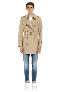 Wimbledon short cotton trench coat, Raincoats And Windbreaker Burberry man