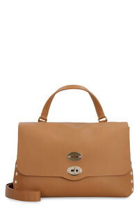 Postina S leather bag, Top handle Zanellato woman