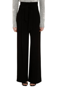 Voto belted wide-leg trousers, Wide leg pants Weekend Max Mara woman