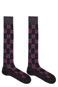 Logo lurex socks, Socks Gucci woman