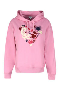 Embroidered hoodie, Hoodies Kenzo woman