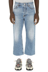 5-pocket jeans, Straight jeans Balenciaga man
