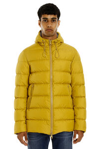 Goose down jacket with zip closure, Down jackets Herno man