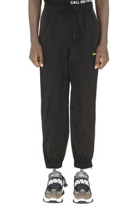 Techno fabric track pants, Track Pants MSGM man