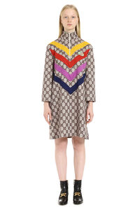 GG printed dress, Knee Lenght Dresses Gucci woman