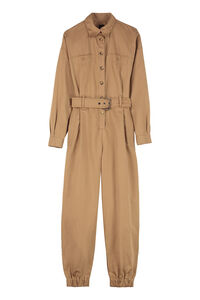 Mack cotton jumpsuit, Full Length jumpsuits Pinko woman