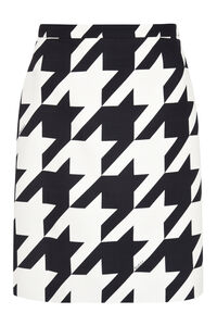 Houndstooth mini skirt, Mini skirts Gucci woman