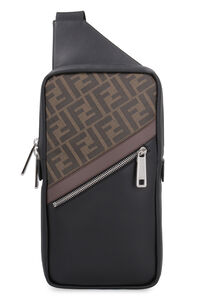 One-shoulder fabric backpack, Backpack Fendi man