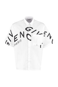 Short sleeve cotton shirt, Short sleeve Shirts Givenchy man