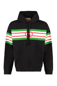 Cotton hoodie, Hoodies Gucci man
