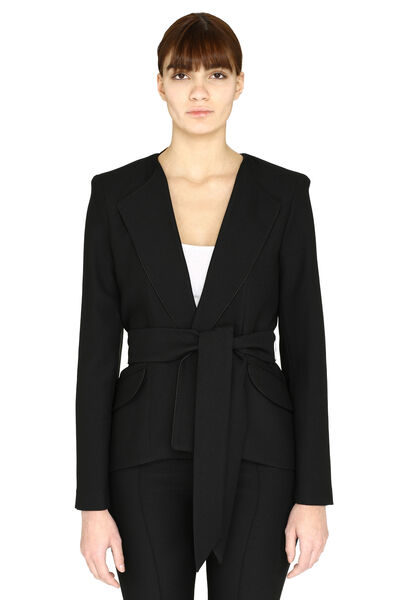 Girlfriend asymmetric blazer