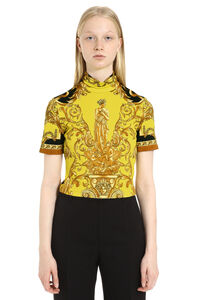 Printed top, Printed tops Versace woman