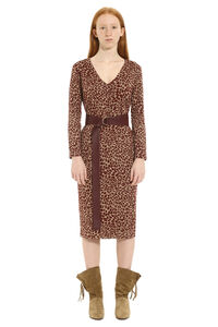 Axe belted sheath dress, Knee Lenght Dresses Max Mara Studio woman