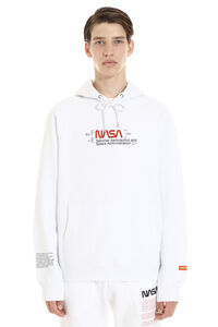 Nasa cotton hoodie, Hoodies Heron Preston man