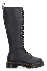1B60 pebbled leather boots, Knee-high Boots Dr. Martens woman