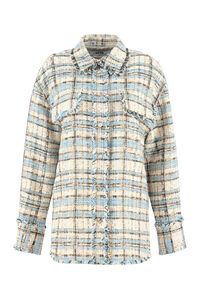 Tweed overshirt, Casual Jackets MSGM woman