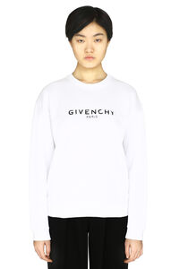 Logo detail cotton sweatshirt, Sweatshirts Givenchy woman