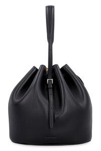 Leather mini bucket-bag, Bucketbag Jil Sander woman