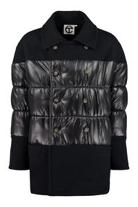 Padded double-breasted coat, Sale Telfar man