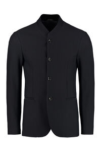 Mesh blazer, Single breasted blazers Giorgio Armani man