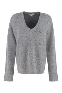 Wool blend sweater, V neck sweaters Vince woman