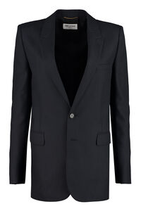 Wool twill blazer, Blazers Saint Laurent woman