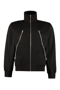 Cotton full-zip sweatshirt, Zip through Maison Margiela man