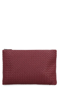 Biletto leather clutch, Clutch Bottega Veneta woman