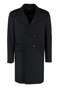 Wool and cashmere coat, Overcoats Z Zegna man
