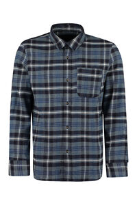 Trek checked overshirt, Checked Shirts A.P.C. man