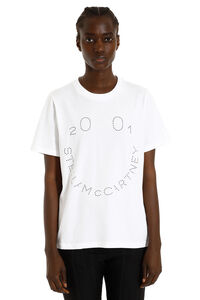 T-shirt in cotone con stampa, T-shirt Stella McCartney woman