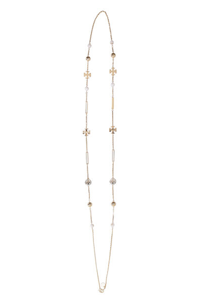 Kira Rosary long necklace with decorative charms
