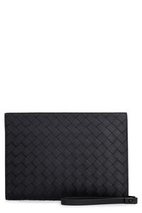 Intrecciato document case, Poches Bottega Veneta man