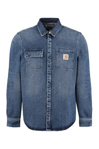Long sleeve denim shirt, Denim Shirts Carhartt man