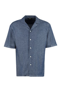 Short sleeve denim shirt, Short sleeve Shirts Z Zegna man