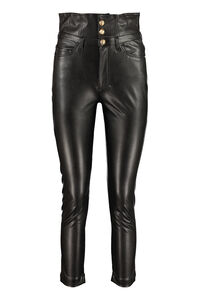 Suzie faux leather trousers, Leather pants Pinko woman