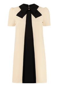 Crepe cady dress, Mini dresses Elisabetta Franchi woman