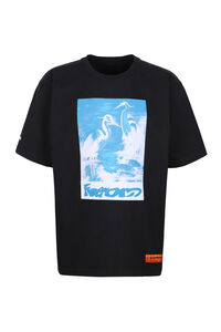 Printed cotton t-shirt, Short sleeve t-shirts Heron Preston man