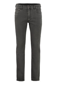 Stretch denim trousers, Slim jeans Prada man