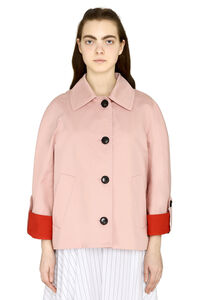 Cotton-linen blend jacket, Casual Jackets Marni woman